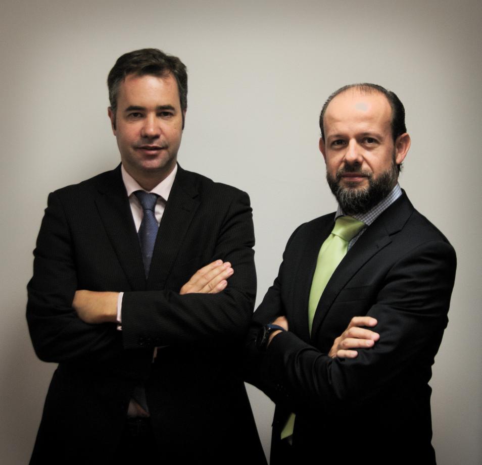 Enrique Lang-Lenton y Benito Naranjo