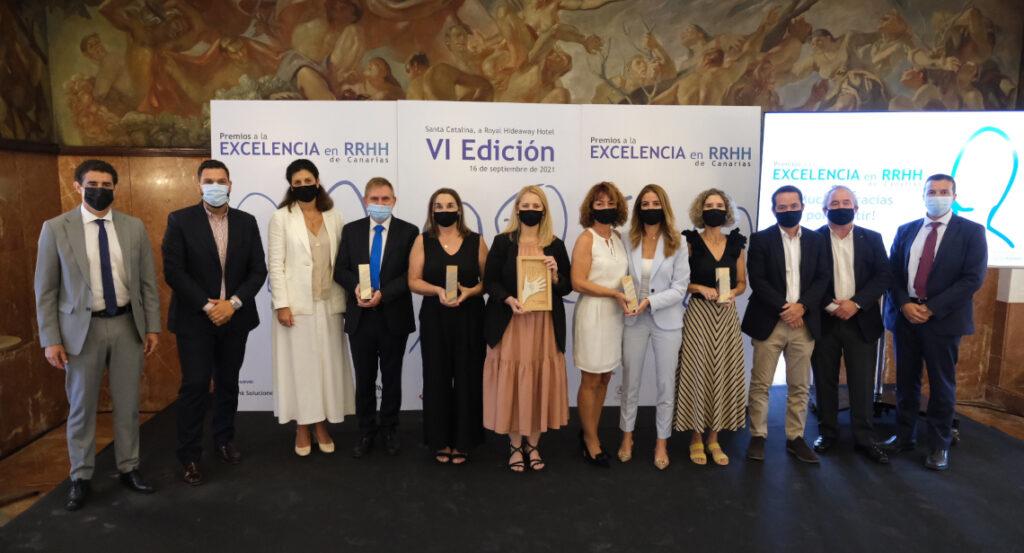 Galardonados Premios RRHH de Canarias 2021