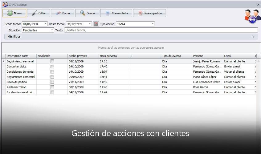 A3erp Crm Software Para La Gestión Y El Control De