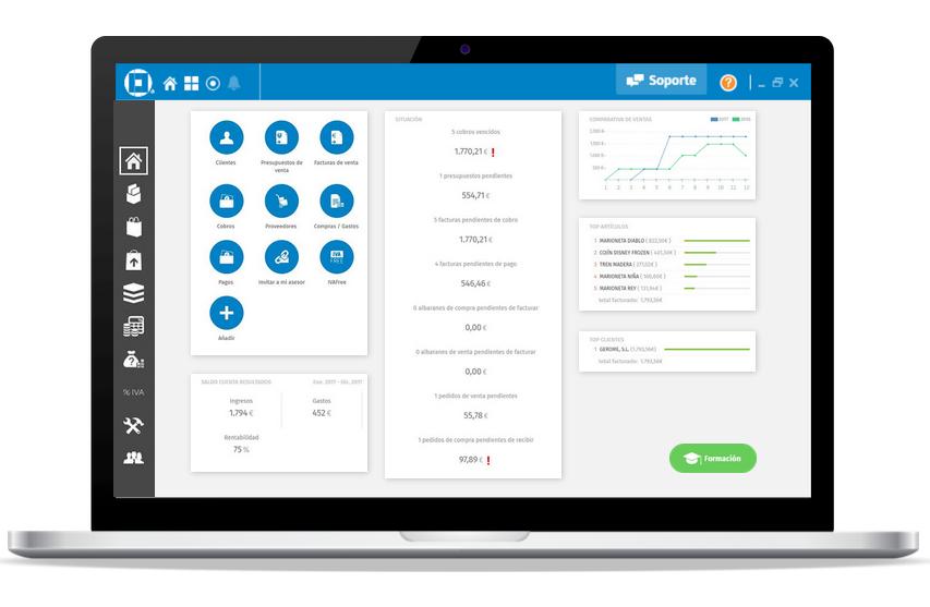 a3factura solución de facturación y contabilidad online link
